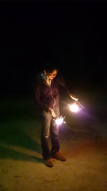 花火の写真です