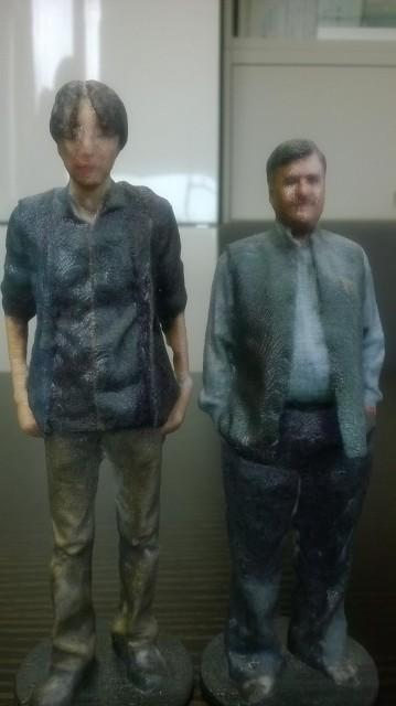 3Dプリンタで作ったフィギュアです