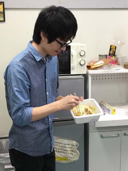 岡藤君の写真です