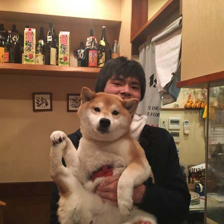 西村君の写真です