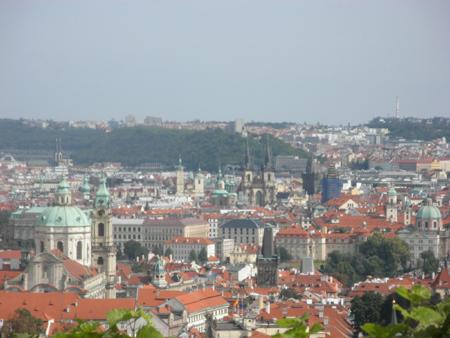 プラハの風景です