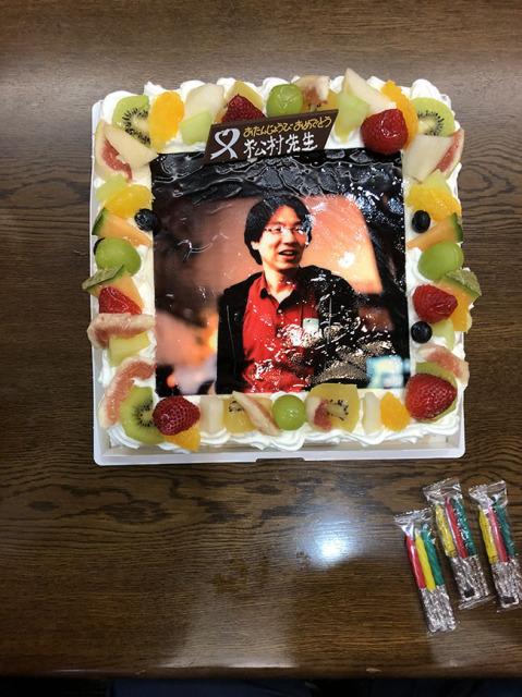 ケーキの写真です