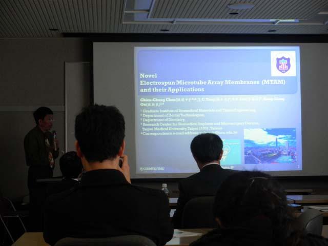 陳建中先生の講演です